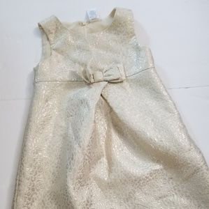 Little girls leopard print dress